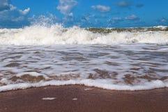 Ondas 1 del mar Imágenes de archivo libres de regalías