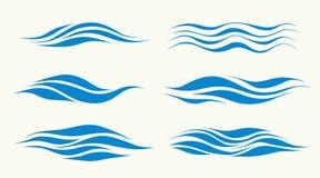 ondas Imagen de archivo