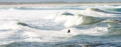 Ondas 3 del mar Foto de archivo libre de regalías