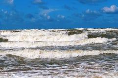 Ondas 3 del mar Fotos de archivo