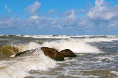Ondas 4 del mar Fotos de archivo