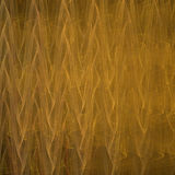 Ondas abstractas del oro ilustración del vector