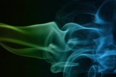 Ondas abstratas do fumo fotografia de stock royalty free