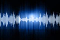 Ondas acústicas Imágenes de archivo libres de regalías