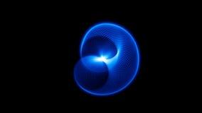 Ondas acústicas en la oscuridad Imagen de archivo libre de regalías