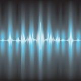 Ondas acústicas que oscilan fotografía de archivo libre de regalías