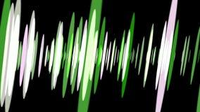 Ondas acústicas que pulsan