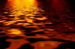 Ondas ardientes - fondo abstracto Fotos de archivo