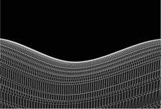 Ondas arquitectónicas rígidas. Vector Fotografía de archivo