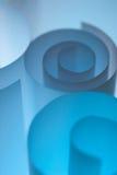 Ondas azuis Imagem de Stock Royalty Free
