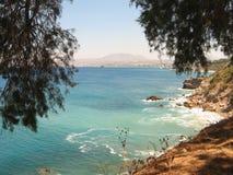 Ondas azuis do mar Foto de Stock