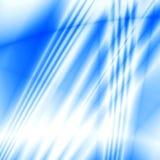 Ondas azules stock de ilustración