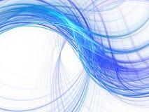 Ondas azules ilustración del vector
