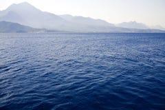 Ondas azules Imagen de archivo