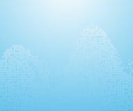 Ondas azules del binario - fondo Fotos de archivo libres de regalías