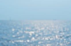 Ondas borradas do mar Fotos de Stock Royalty Free