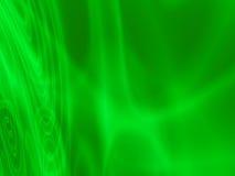 Ondas claras verdes abstratas Foto de Stock Royalty Free