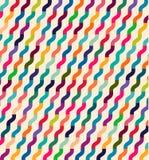Ondas coloridas sem emenda para o uso universal Fotos de Stock