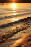 Ondas costeras Imagenes de archivo