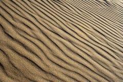 Ondas da areia Imagens de Stock Royalty Free