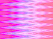 Ondas da cor-de-rosa ilustração do vetor