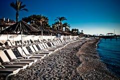Ondas da praia Foto de Stock Royalty Free