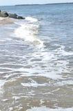 Ondas da praia de Florida Fotografia de Stock