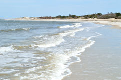 Ondas da praia de Florida Imagem de Stock