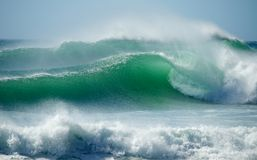 Ondas da ressaca de Cape Town Fotografia de Stock Royalty Free