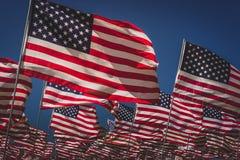 Ondas das bandeiras fotos de stock