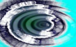 Ondas de água abstratas Foto de Stock
