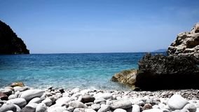 Ondas de água no mar filme