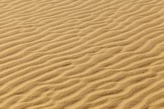 Ondas de areia fotografia de stock