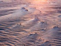Ondas de arena fotografía de archivo libre de regalías