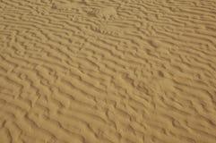 Ondas de arena Imagen de archivo libre de regalías