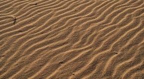 Ondas de arena foto de archivo libre de regalías
