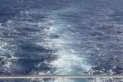 Ondas de la agua de mar de la textura Fotografía de archivo libre de regalías