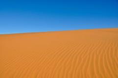 Ondas de la arena imagen de archivo