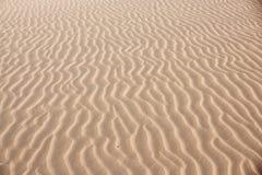 Ondas de la duna Imágenes de archivo libres de regalías