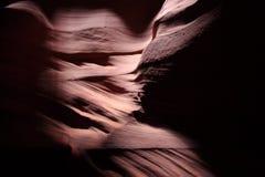 Ondas de la piedra arenisca Imagen de archivo libre de regalías
