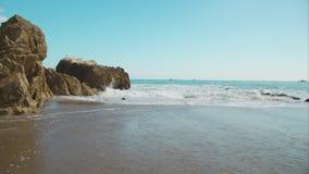 Ondas de la playa metrajes