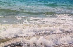 Ondas de la playa imagen de archivo libre de regalías