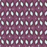 Ondas de matéria têxtil do teste padrão Imagens de Stock