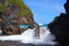 Ondas de Maui Foto de archivo
