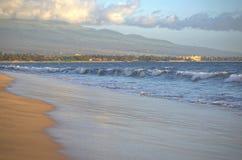 Ondas de Maui Fotos de archivo libres de regalías