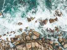 Ondas de océano Fotos de archivo libres de regalías