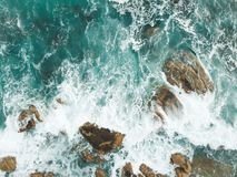 Ondas de océano Imagenes de archivo