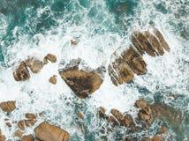 Ondas de océano Fotografía de archivo