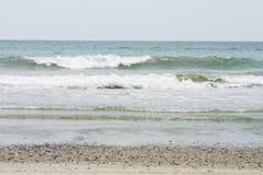 Ondas de océano Imágenes de archivo libres de regalías