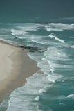 Ondas de océano - antena Imagen de archivo libre de regalías